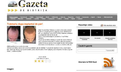 Gazeta DE BISTRITA