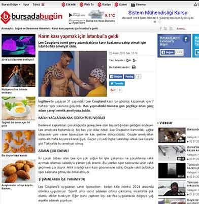 Bursa'da Bugün